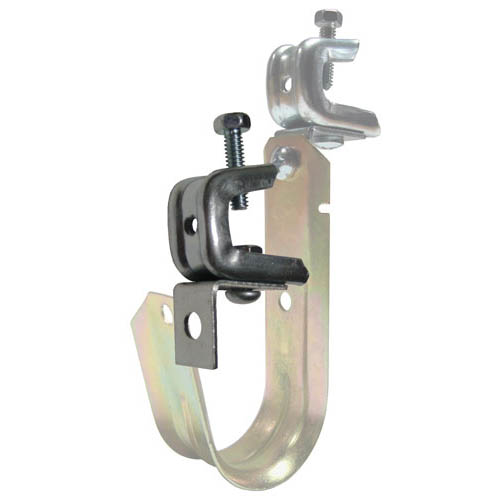 J hook with angle clip and rotating press beam clamp by doc s